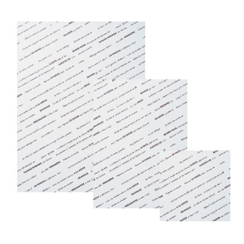 シリコングラシンシート スペシャリテ 508×381ブラウン 500枚
