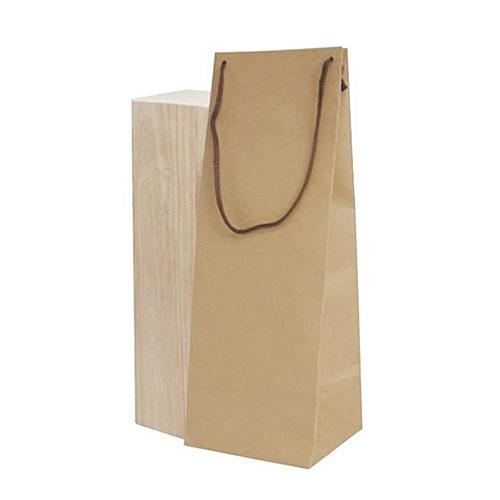 ボトルクラフト酒瓶用手提げ袋160パイ 100枚(K-1373), スエヨシチョウ fbdfaf86