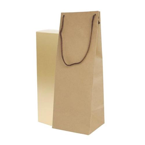 ボトルクラフト酒瓶用手提げ袋170パイ 100枚(K-1231)