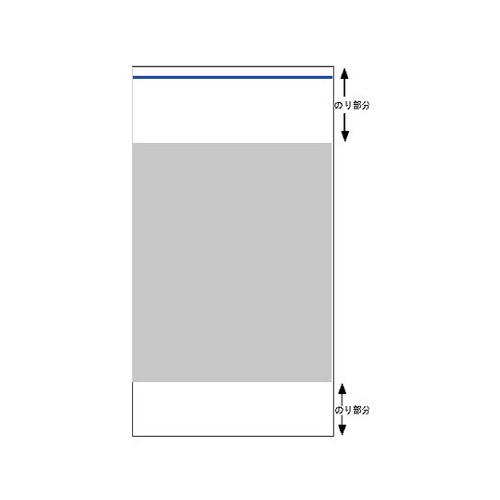 デリバリーパック(L-19)青ライン2500枚(120x245+10mm)