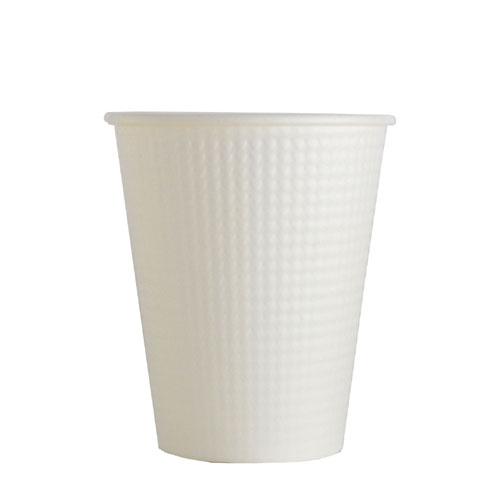 40%OFFの激安セール 満杯容量:260ml_断熱紙コップ_ホット用紙コップ_耐熱 断熱紙コップ SMP-260E ホワイト 特別セール品 1500個