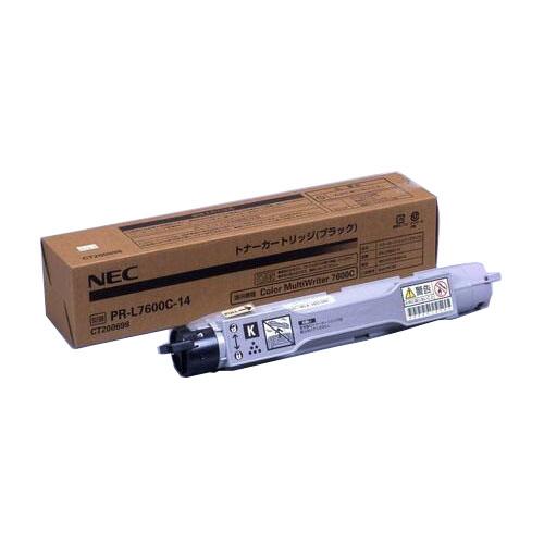 純正品 NEC PR-L7600C-14 ブラック / 4547714043351【返品不可商品】
