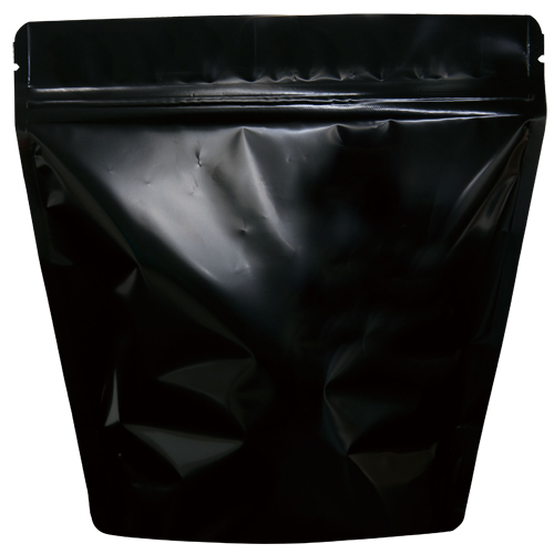 コーヒー紙袋 スタンド袋 コーヒー保存袋【300g用】ブラック 500枚 COT-862