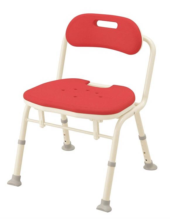 安寿 入浴用椅子折りたたみシャワーベンチ IN-S レッドアロン化成