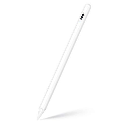 KINGONE スタイラスペンiPad ペン 超高感度 極細 タッチペンiPad 傾き感知 軽量 訳あり商品 安心の定価販売 US 2020年最新進化版 磁気吸着機能対応 誤作動防止