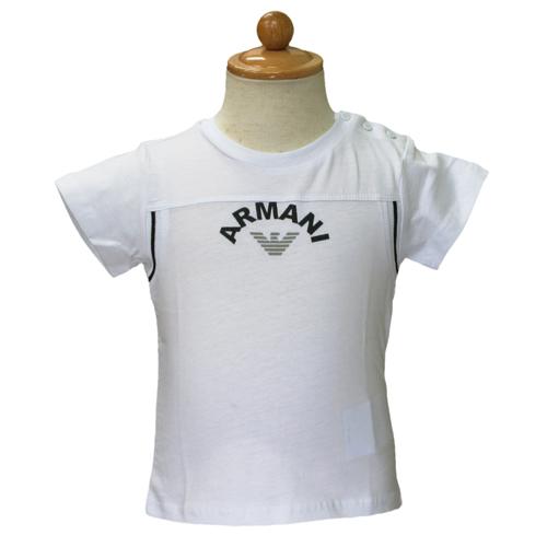 アルマーニ ベビー ARMANI BABY 半袖Tシャツ ○ MXH503TWHT 【のし対応】【ブランド子供服】