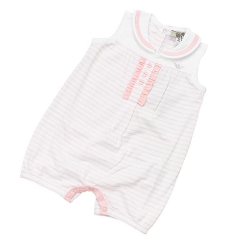 アルマーニ ベビー ARMANI BABY ベビー服 ノースリーブ ショートオール RXM106HPK 【あす楽対応】【のし対応】