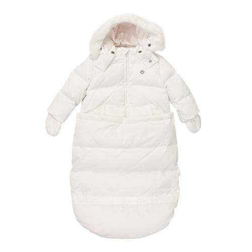 アルマーニ ベビー ARMANI BABY 出産祝いギフト おくるみ&中綿ジャケット (手袋・フード付) BKL09WHT【あす楽対応】