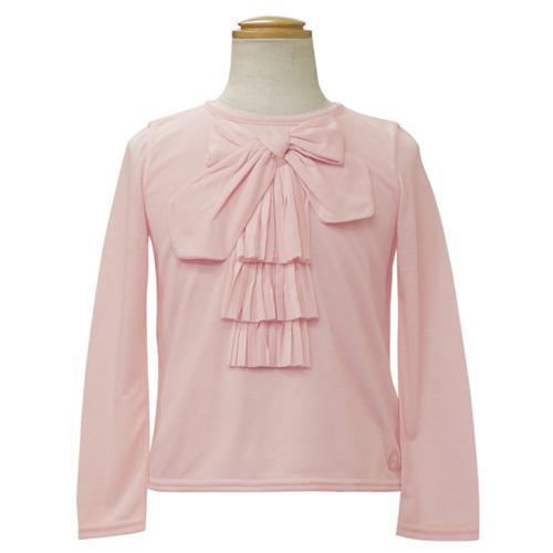 クリスチャン ディオール Christian Dior リボン付 長袖Tシャツ ロンT CD-0253PK 【ブランド子供服】