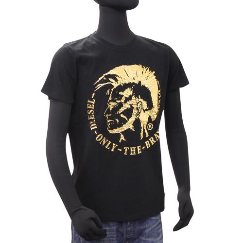 DIESEL 新作アイテム毎日更新 ディーゼル バッグ ジーンズが激安 ラッピング無料 中古 DISGFL 半袖Tシャツ