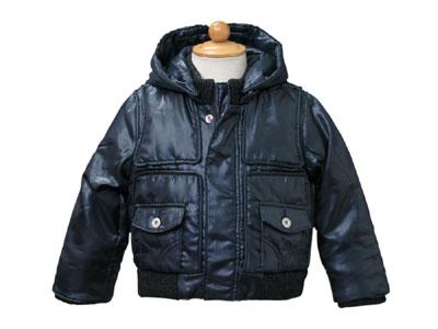 D&G ジュニア 長袖中綿ジャケット DGL14273NVY 【あす楽対応】【ブランド子供服】