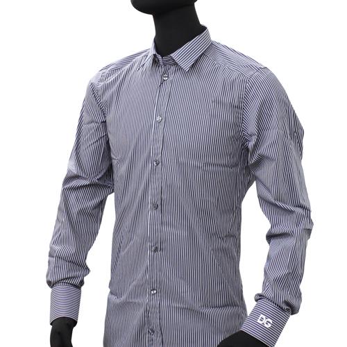 ドルチェ&ガッバーナ ドルガバ メンズ ワイシャツ Yシャツ ドレスシャツ (GOLD) (ストレッチあり) DGHQ0055【ラッピング無料】