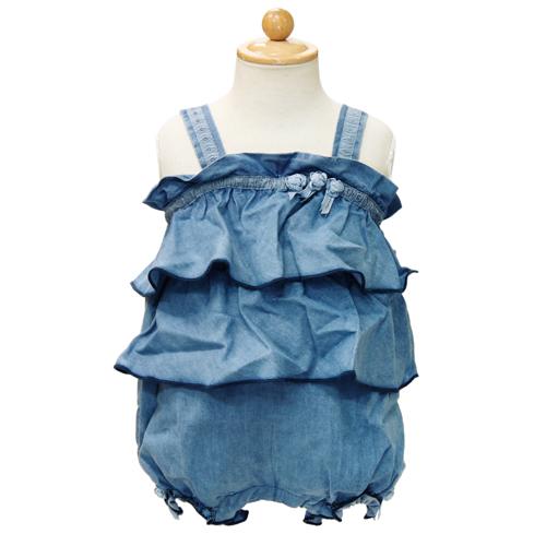 D&G ジュニア 出産祝いギフト キャミフリル ロンパース DGL2AO08 【あす楽対応】【のし対応】【ブランド子供服】