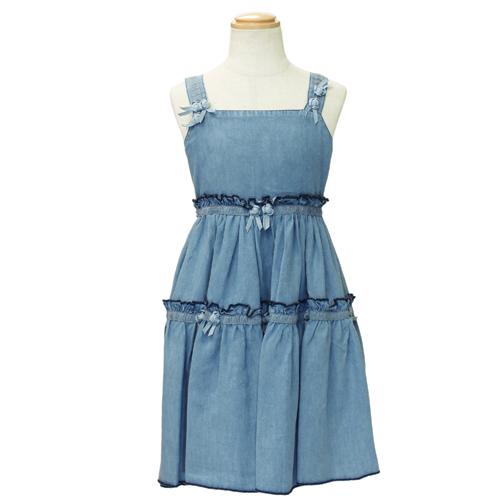 D&G ジュニア キャミ ワンピース 子供ドレス フォーマルドレス DGL5AD32 【ブランド子供服】
