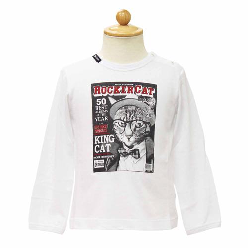 D&G ジュニア ベビー服 長袖Tシャツ DGL1CT3PWHT 【あす楽対応】【のし対応】