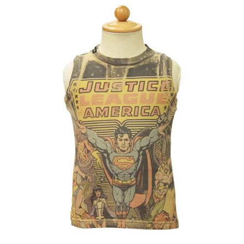 D&G ジュニア ベビー服 タンクトップ (スーパーマン) DGL1CT4L 【あす楽対応】【のし対応】