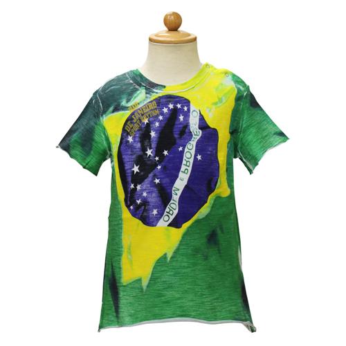 D&G ジュニア ベビー服 半袖Tシャツ (ブラジル国旗) DGL1CT1P20 【あす楽対応】【のし対応】