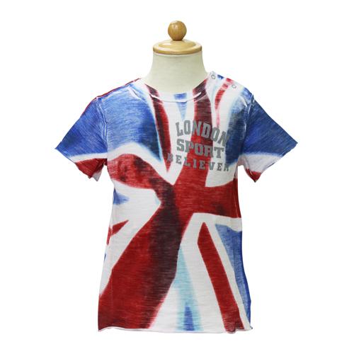 D&G ジュニア ベビー服 半袖Tシャツ (イギリス国旗) DGL1CT1P21 【あす楽対応】【のし対応】