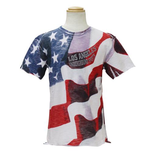 D&G ジュニア 子供服 半袖Tシャツ (アメリカ国旗) DGL4CT1P22