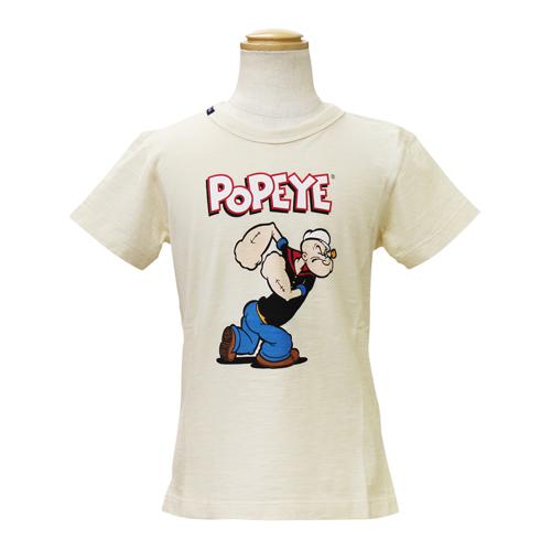 D&G ジュニア 子供服 半袖Tシャツ (POPEYE) DGL4CT3ZBEG
