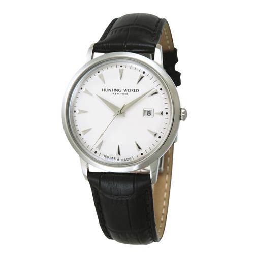 【取り寄せ商品】ハンティングワールド HUNTING WORLD メンズ腕時計 PRESENTE (プレセンテ) リストウォッチ HW914SSIBK 【ハンティング・ワールド】