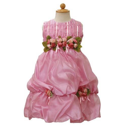 Lesy レジー ノースリーブ 子供ドレス ワンピース フォーマルドレス LE1019PK【ブランド子供服】