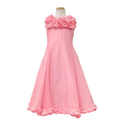 【SALE】【再値下げ!】Lesy レジー ノースリーブ 子供ドレス ワンピース フォーマルドレス LE1060PK【ブランド子供服】