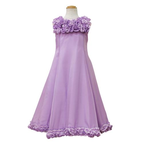 Lesy レジー ノースリーブ 子供ドレス ワンピース フォーマルドレス LE1060PU【ブランド子供服】