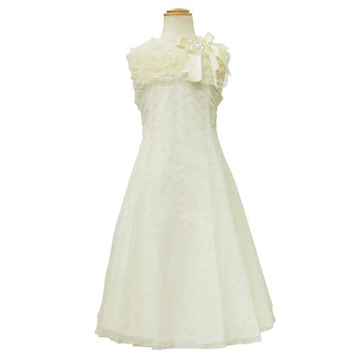Lesy レジー ノースリーブ 子供ドレス ワンピース フォーマルドレス LE1144IV【ブランド子供服】