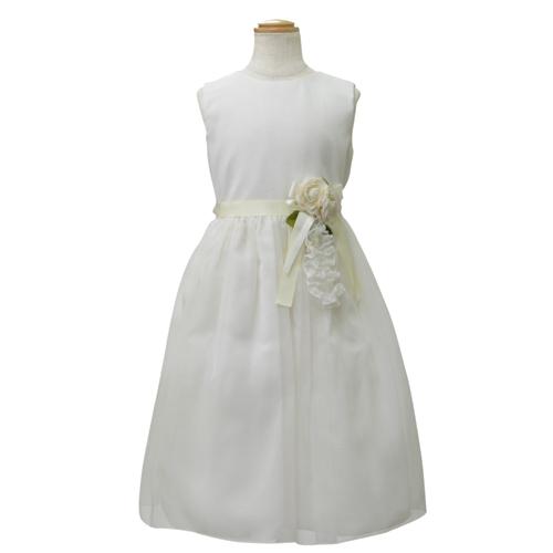 【SALE】【再値下げ!】Lesy レジー ノースリーブ 子供ドレス ワンピース フォーマルドレス LE12352IV【ブランド子供服】