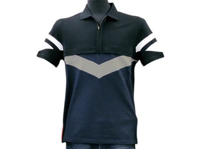 PRADA SPORT プラダスポーツ メンズ ポロシャツ SJM667BLU