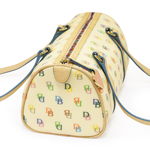 Dooney & Bourke Dooney & Bourke IT series barrel satchel _DB-IT20WHT