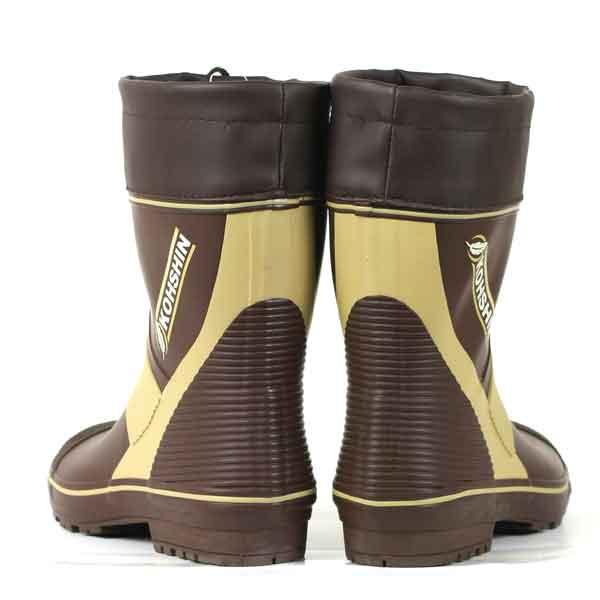 new concept 3026c 4f6ef Work boots with boots men Malus Sieboldii dollar length << Koshin Gomu >>  asper ultra light KL333 light weight cover