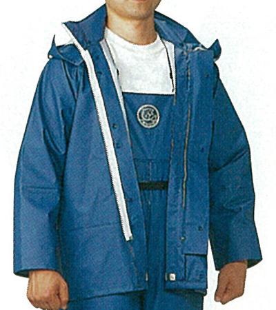 【合羽 水産】日本製の合羽ジャンパー(上着)《ミツウマ》シーエース32型MHWジャンバー(5Lサイズ)
