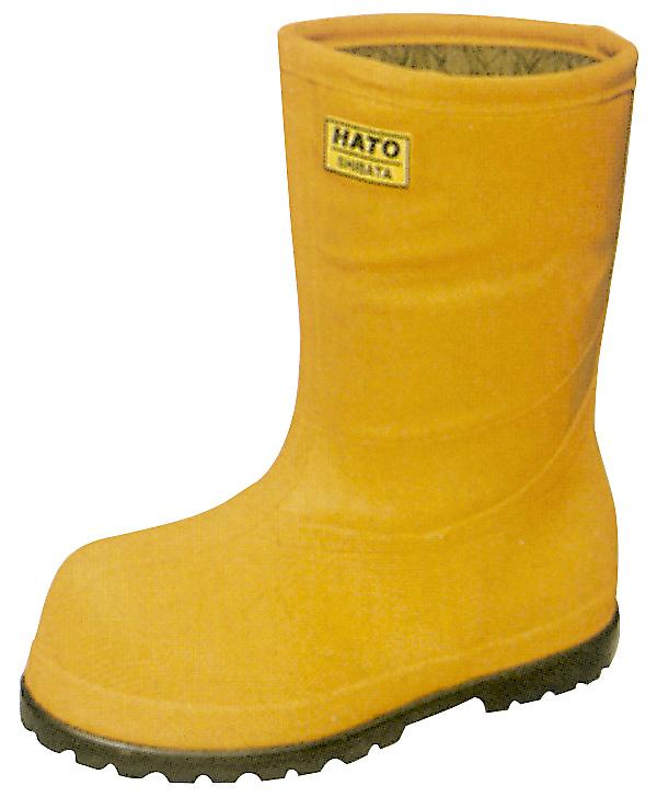 【送料無料】【長靴 防寒】超低温作業用安全長靴《シバタ》冷蔵庫長-60℃ レキ6E(オレンジ)