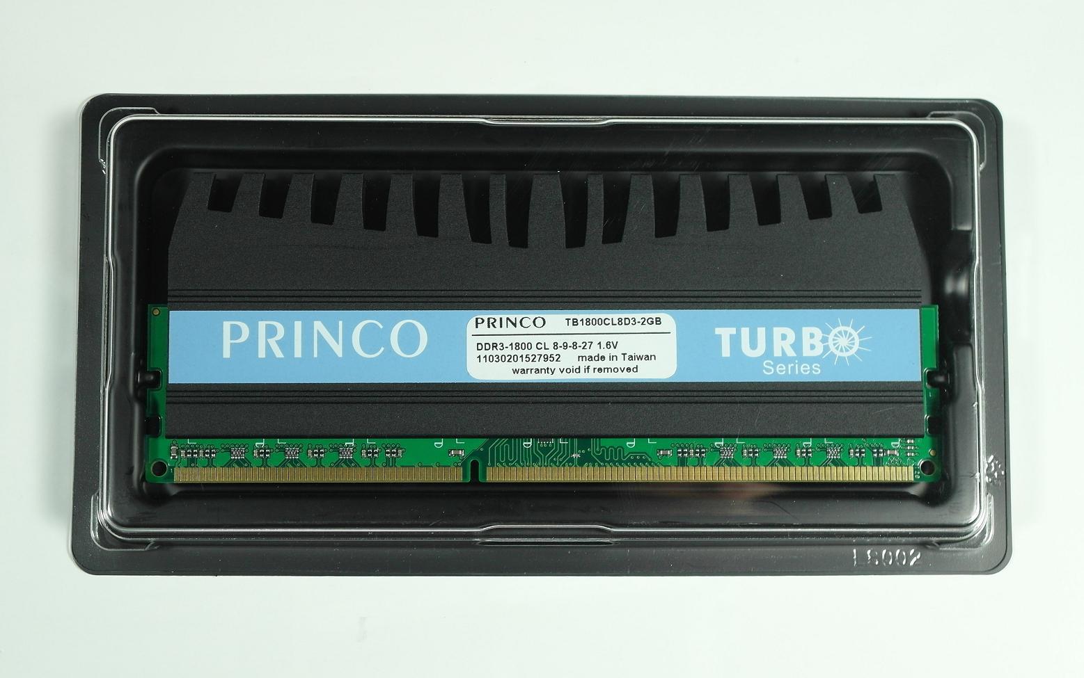 Limited Edition! TURBO series TB1800CL8D3-2GB (CL8 2 GB DDR3-1800)
