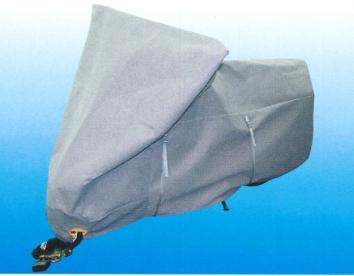 平山産業 透湿防水バイクカバー テクノバイクカバーグレー /大型BOX付
