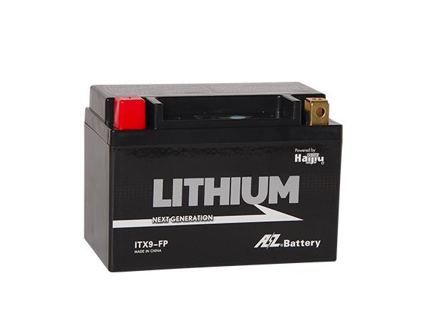 AZ オートバイ用リチウムイオンバッテリー ITX9-FP