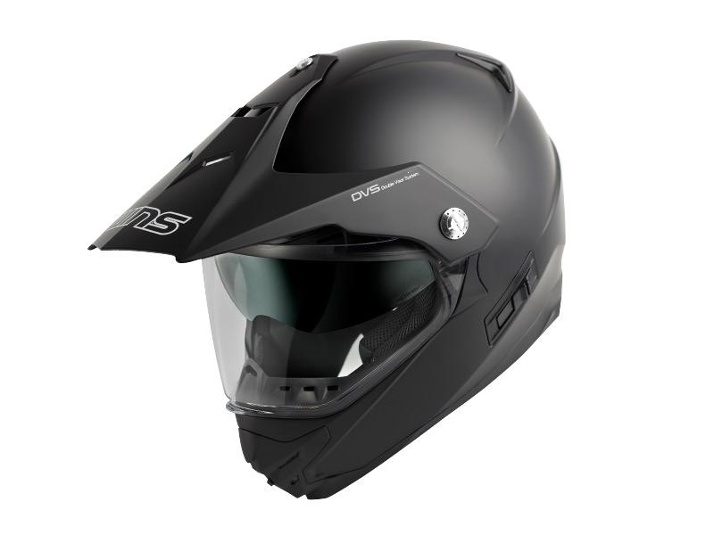 ウインズ(WINS)オフロードインナーバイザーつきヘルメット X-ROAD(ソリッド) (マットブラック・L)