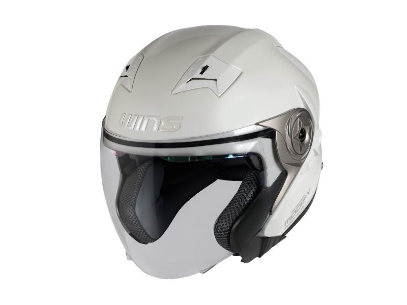 ウインズ(WINS)ジェットヘルメット MODIFY(モディファイ) X JET (パールホワイト・L)