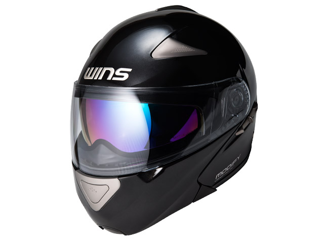 ウインズ(WINS)システムヘルメット MODIFY(モディファイ) (メタリックブラック・M)