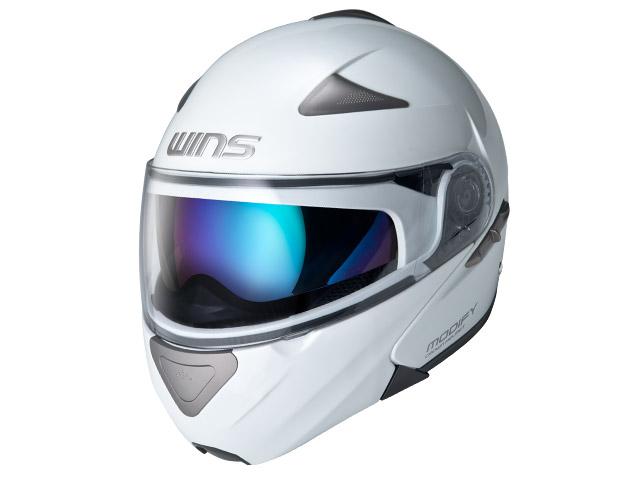 ウインズ(WINS)システムヘルメット MODIFY(モディファイ) (パールホワイト・L)