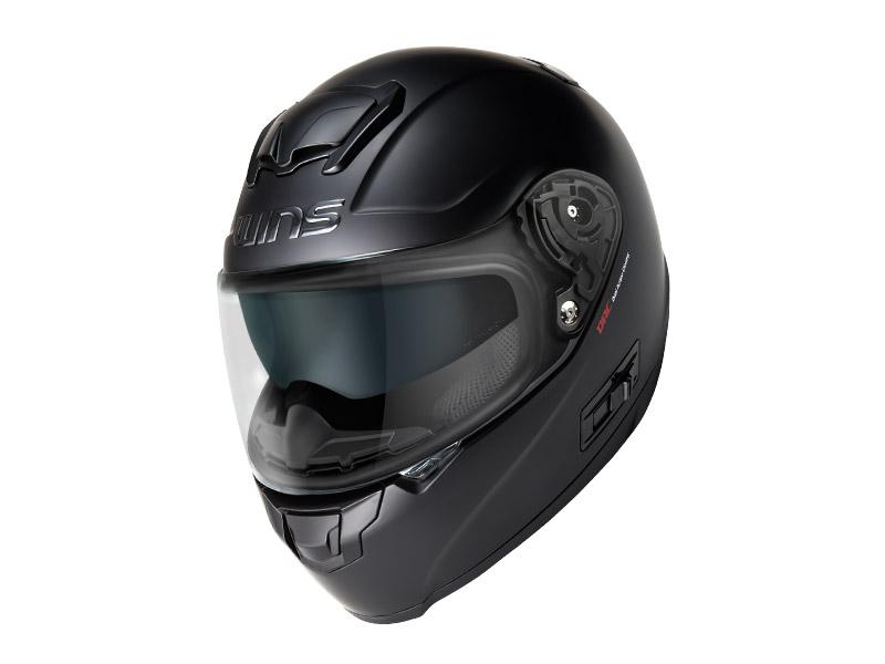 ウインズ(WINS)フルフェイスヘルメット FF-CONFORT(コンフォート) (マットブラック・L)