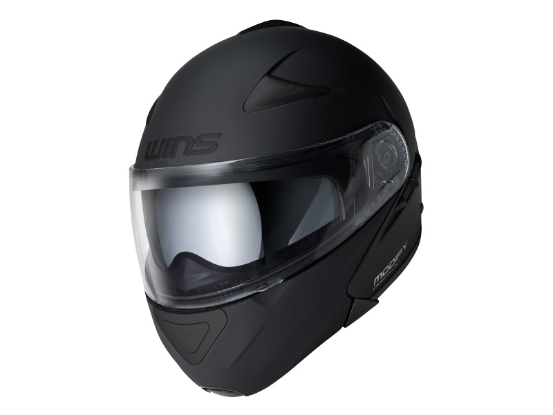 ウインズ(WINS)システムヘルメット MODIFY(モディファイ) (オールマットブラック・XL)