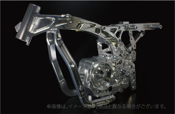 Gクラフト(G-Craft)モンキー用 ビレットダウンチューブ シルバー アルミフレーム用/モンキー(39430)