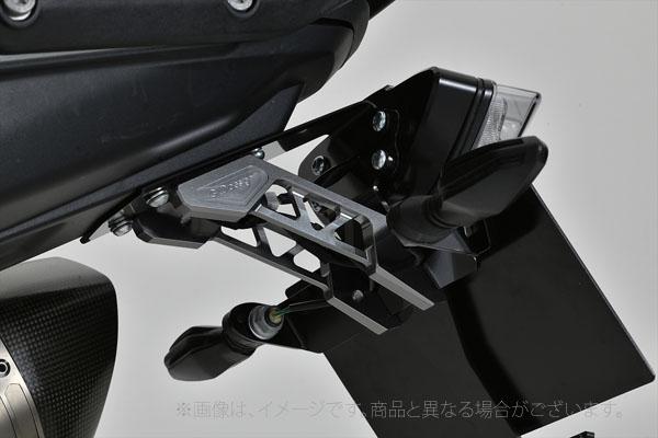 ギルドデザイン(G-Craft)DUKE790用 ビレットライセンスホルダー ブラック/DUKE790(71537)