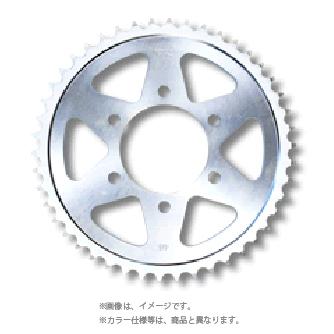 サンスター(SUNSTAR)リアスプロケット(スチール製) (428/シルバー/48丁)JY-006-48