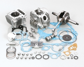 キタコ(KITACO)108cc STD-タイプ2 ボアアップKIT(108cc(SEロッカーアーム付))(214-1083205)