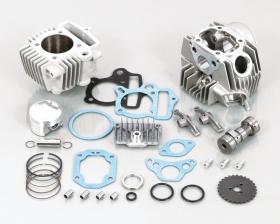 キタコ(KITACO)88cc STD-タイプ2 STD-タイプ2 STD-タイプ2 ボアアップKIT(88cc(メッキシリンダー/SEロッカーアーム付))(215-1083202) 9bb