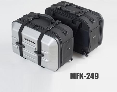 タナックス(TANAX) ツアーシェルケース2 ヘアラインシルバー/MFK-249